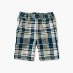 Plaid Travel Shorts Delta 5