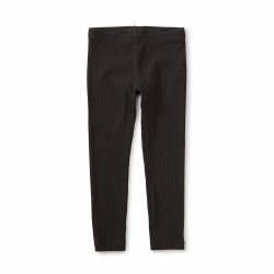 Pointelle Leg Black 3