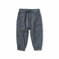Railroad Baby Pant Dark 6-9M