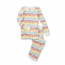 Rainbow Wave LS PJs 2