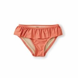 Ruffle Bikini Bottom Mauve 2