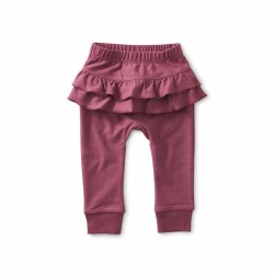 Ruffle Baby Pant Cassis 3-6M