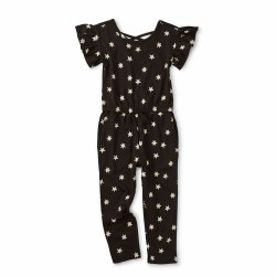Scoop Ruffle Jumpsuit Stars 2