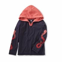 Snake Sleeve Happy Hoodie 3