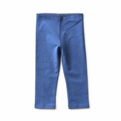 Solid Capri Leg Batik Blue 4