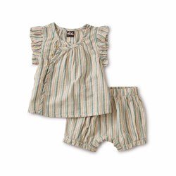Sparkle Stripe Set Marsh 3-6M