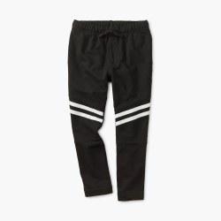 Speedy Stripe Pant Black 3