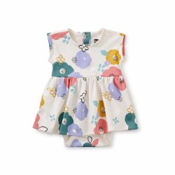 Sweet Baby Dress Floral 0-3M