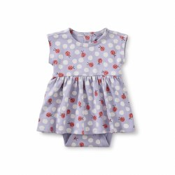 Sweet Baby Dress LadyBug NB