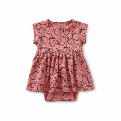 Sweet Baby Dress Strwbrry NB