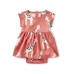 Sweet Baby Dress Giraffe 0-3M