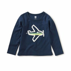 Take Flight LS Baby Tee 6-9M