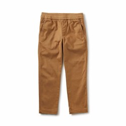 Timeless Twill Pant Wheat 2