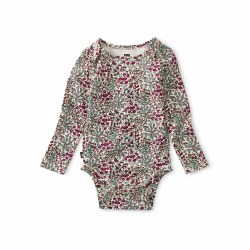 Tradgard Floral Bodysuit 0-3M