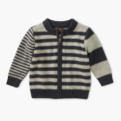 Trek Strp Baby Zip Cardi 6-9M
