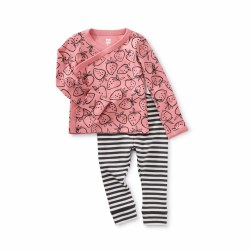 Wrap Baby Outfit Strwbrry 3-6M