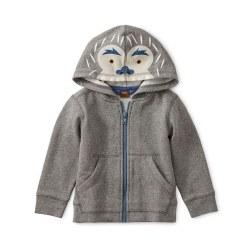 Yeti Zip Baby Hoodie 3-6M