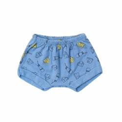Milk Cheese Terry Shorts 3-6M