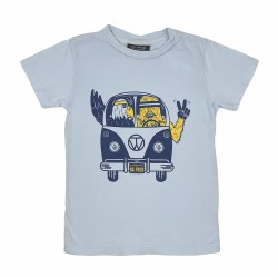 Be Free Tee Blue 6-12M