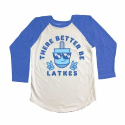 Better Be Latkes Raglan 6