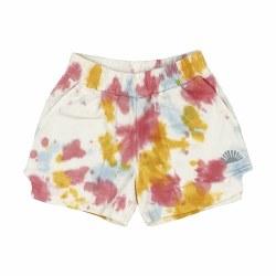 Cosmic Tie Dye Shorts 3