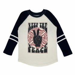 Keep the Peace Raglan 2