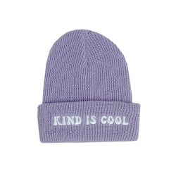 Kind Is Cool Beanie Lav 2-5Y