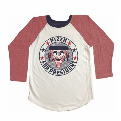Pizza for President Raglan 7