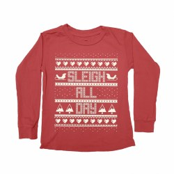 Sleigh All Day LS Tee 3