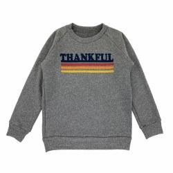 Thankful Sweatshirt Gray 5