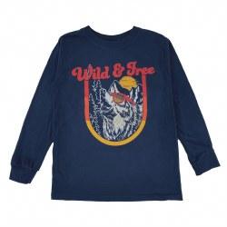 Wild & Free Wolf LS Tee 2