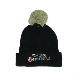 You Are Beautiful Beanie 2-5Y
