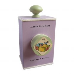 Music Box Hush Little Baby Purple