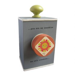 Music Box You Are My Sunshine Grey