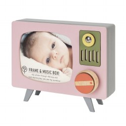 TV Frame Music Box Pink