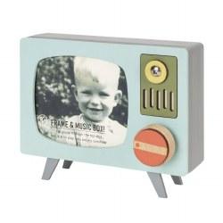 TV Frame Music Box Turquoise