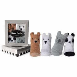 Bear Cave Sock Set 0-12M