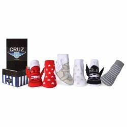 Cruz Sock Set 0-12M