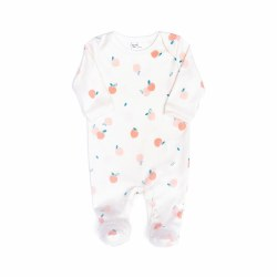 Footie Peach Natural 0-3M