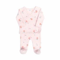 Kimono Set Peach Pink 0-3M