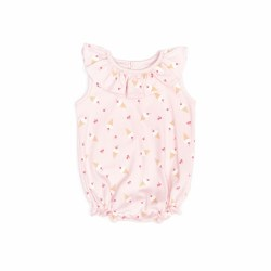 Ruffle Onesie Ice Cream 0-3M