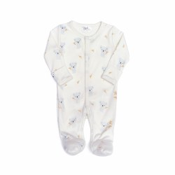 Snap Footie Koala Blue 0-3M