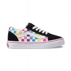 Old Skool Rainbow Checker 11