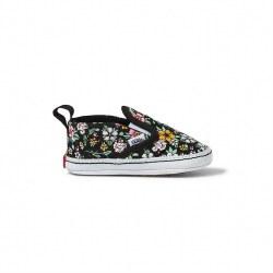 Slip-on V Crib Shoe Floral 2