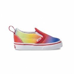 Slip-On V Rainbow Glitter 10