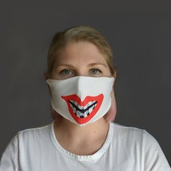 Braces Adult Face Mask