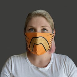King of Tigers Adult Face Mask