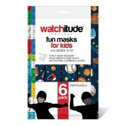 Kids Face Masks Sports & Build Up