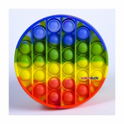 Pop'd Rainbow Disc Popping Toy