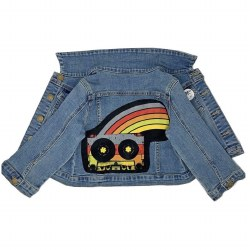 Cassette Patch Denim Jacket 2